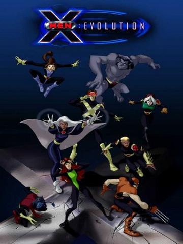 Фильм Люди Икс: Эволюция 1,2,3,4 сезон бесплатно